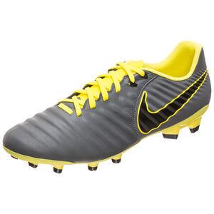Tiempo Legend VII Academy FG Fußballschuh Herren, dunkelgrau / gelb, zoom bei OUTFITTER Online