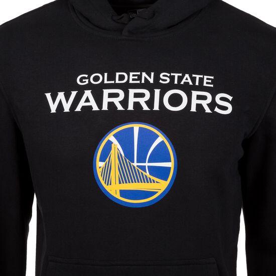 NBA Golden State Warriors Logo Kapuzenpullover Herren, Schwarz, zoom bei OUTFITTER Online