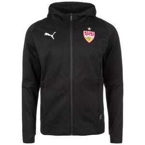 VfB Stuttgart Casual Kapuzenjacke, Schwarz, zoom bei OUTFITTER Online