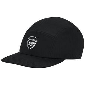 FC Arsenal 5P Cap Herren, schwarz / weiß, zoom bei OUTFITTER Online