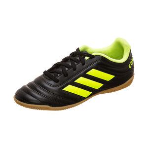 Copa 19.4 Indoor Fußballschuh Kinder, anthrazit / neongelb, zoom bei OUTFITTER Online