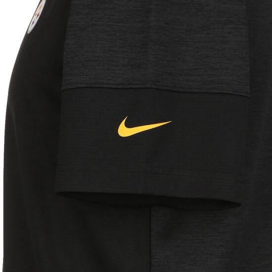 NFL Coach UV Pittsburgh Steelers T-Shirt Herren, schwarz, zoom bei OUTFITTER Online