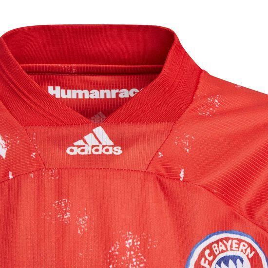 FC Bayern München Human Race FC Trikot Kinder, rot / blau, zoom bei OUTFITTER Online