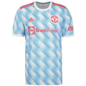 Manchester United Trikot Away 2021/2022 Herren, weiß / blau, zoom bei OUTFITTER Online