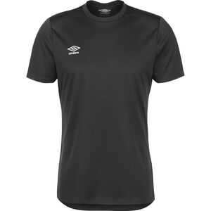 Club Trainingsshirt Herren, dunkelgrau / weiß, zoom bei OUTFITTER Online