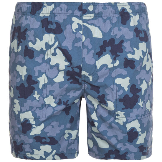 Printed Quickdry Short Herren, blau, zoom bei OUTFITTER Online