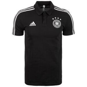 DFB Cotton Poloshirt Herren, schwarz / hellgrau, zoom bei OUTFITTER Online