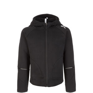 Evostripe Move Hooded Trainingsjacke Kinder, schwarz, zoom bei OUTFITTER Online