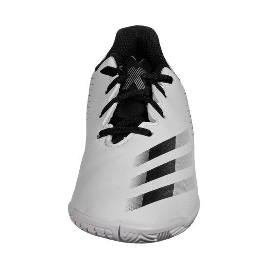 X Ghosted.4 IN Fußballschuh Kinder, weiß / silber, zoom bei OUTFITTER Online