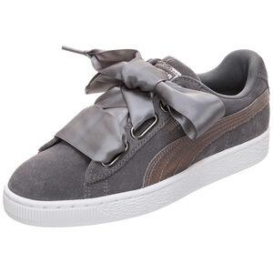 Suede Heart LunaLux Sneaker Damen, Grau, zoom bei OUTFITTER Online