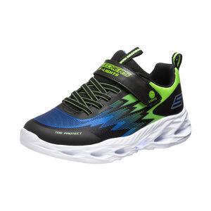 Vortex-Flash Sneaker Kinder, schwarz / blau, zoom bei OUTFITTER Online