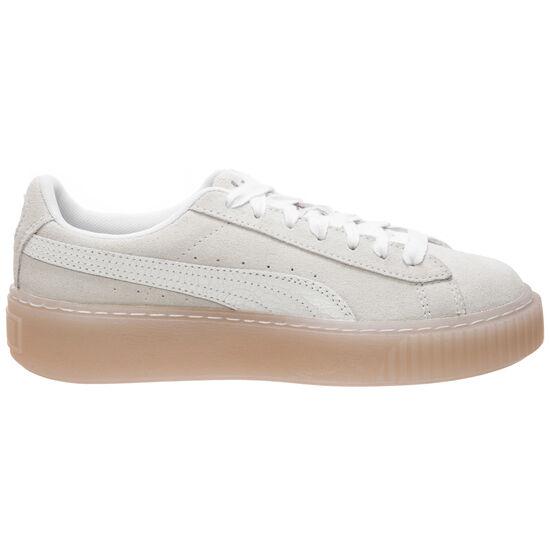 Suede Platform Artica Sneaker Damen, weiß, zoom bei OUTFITTER Online