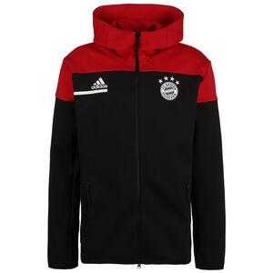 FC Bayern München Z.N.E. Kapuzenjacke Herren, schwarz / rot, zoom bei OUTFITTER Online