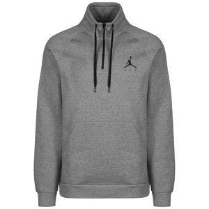 Jordan Jumpman Fleece 1/2 Zip Sweatshirt Herren, grau / schwarz, zoom bei OUTFITTER Online