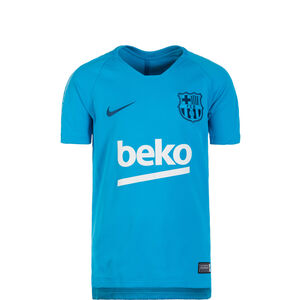 FC Barcelona Breathe Squad Trainingsshirt Kinder, blau / dunkelblau, zoom bei OUTFITTER Online