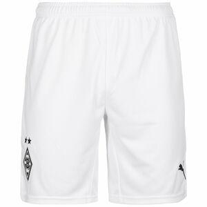 Borussia Mönchengladbach Shorts Home 2021/2022 Herren, weiß / schwarz, zoom bei OUTFITTER Online