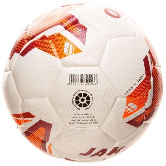 Lightball Hybrid Camp Fußball, rot / neonorange, zoom bei OUTFITTER Online