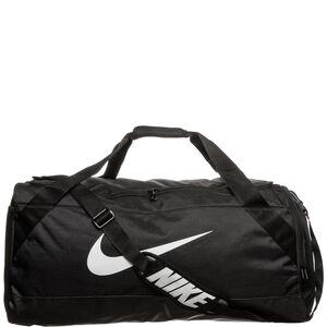 Brasilia Duffel Sporttasche Large, schwarz / weiß, zoom bei OUTFITTER Online