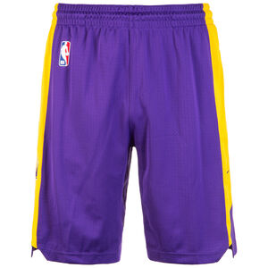 NBA Los Angeles Lakers Basketballshort Herren, lila / gelb, zoom bei OUTFITTER Online