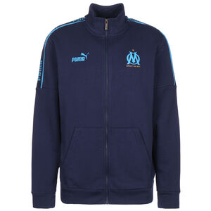 Olympique Marseille FtblCulture Trainingsjacke Herren, dunkelblau / hellblau, zoom bei OUTFITTER Online