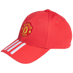 Manchester United Baseball Cap, rot / weiß, zoom bei OUTFITTER Online