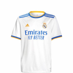 Real Madrid Trikot Home 2021/2022 Kinder, weiß / blau, zoom bei OUTFITTER Online
