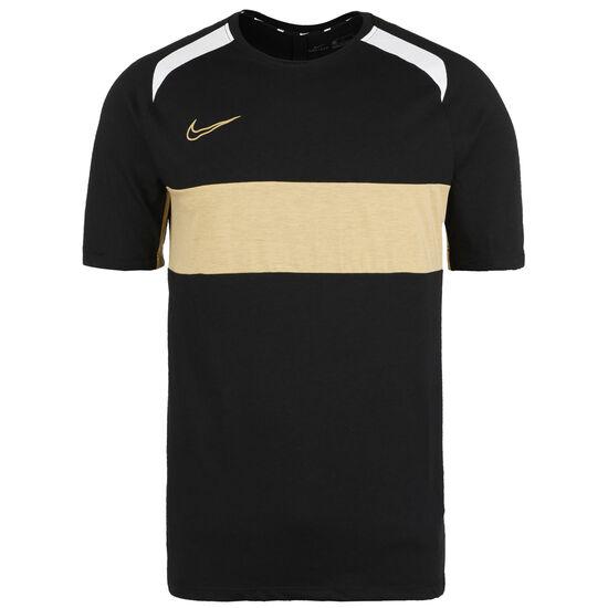 Dry Academy Trainingsshirt Herren, schwarz / gold, zoom bei OUTFITTER Online