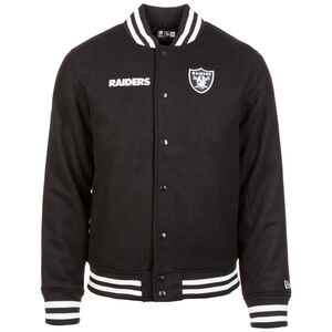 NFL Team App Oakland Raiders Bomber Jacke Herren, schwarz, zoom bei OUTFITTER Online