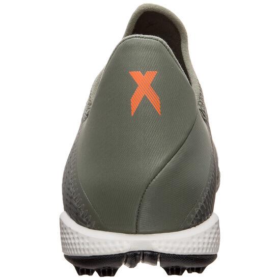 X 19.3 TF Fußballschuh Herren, oliv / orange, zoom bei OUTFITTER Online