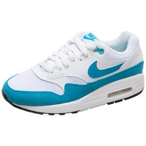 Air Max 1 Sneaker Damen, weiß / blau, zoom bei OUTFITTER Online