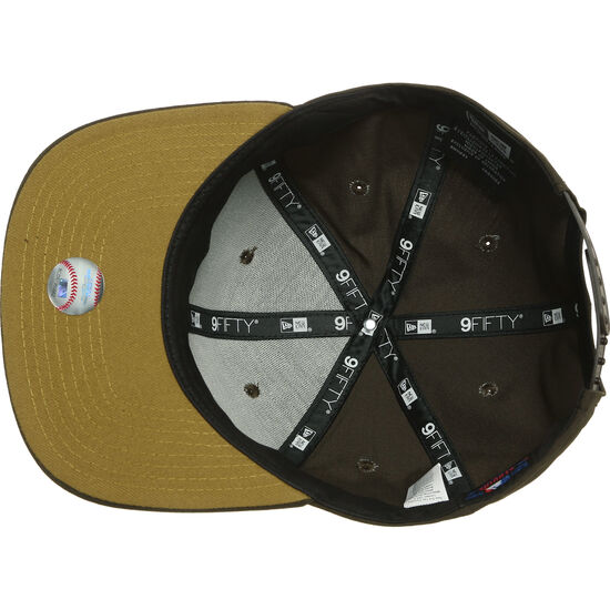 9FIFTY MLB New York Yankees Utility Snapback Cap, braun / gold, zoom bei OUTFITTER Online