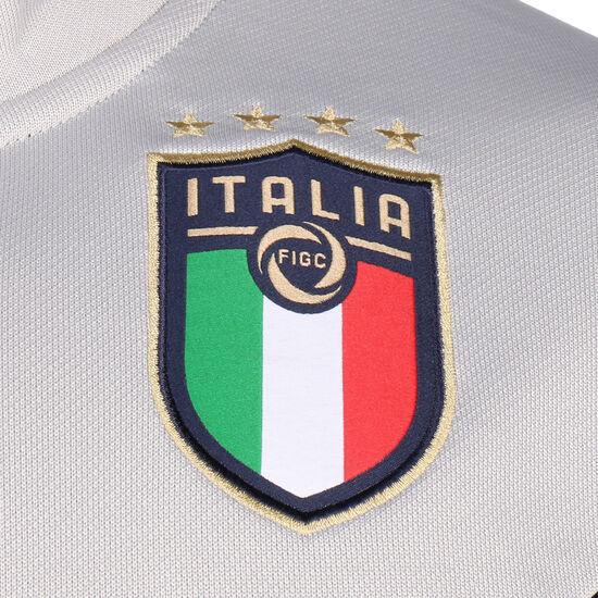 FIGC Italien Iconic MCS Track Jacke EM 2020 Herren, dunkelblau / grau, zoom bei OUTFITTER Online