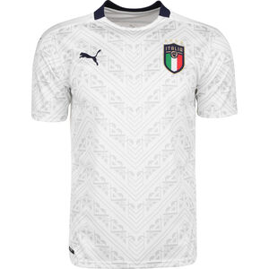 FIGC Italien Trikot Away EM 2020 Herren, weiß / dunkelblau, zoom bei OUTFITTER Online
