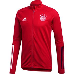 FC Bayern München Trainingsjacke Herren, rot / schwarz, zoom bei OUTFITTER Online