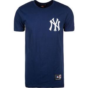 MLB New York Yankees Longline T-Shirt Herren, Blau, zoom bei OUTFITTER Online