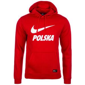 Polen Sportswear Kapuzenpullover WM 2018 Herren, Rot, zoom bei OUTFITTER Online
