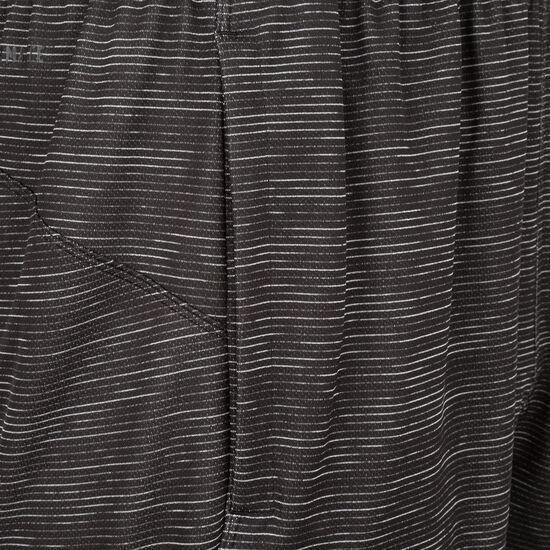 4KRFT Sport Striped Heather Trainingsshort Herren, schwarz, zoom bei OUTFITTER Online