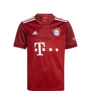 FC Bayern München Trikot Home 2021/2022 Kinder, rot / weiß, zoom bei OUTFITTER Online