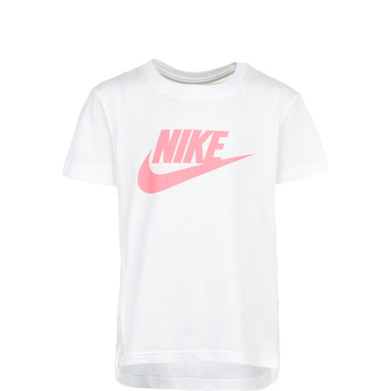 Basic Futura T-Shirt Kinder, weiß / pink, zoom bei OUTFITTER Online