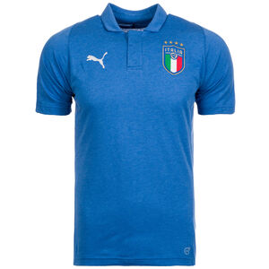 FIGC Italien Casual Performance Poloshirt Herren, Blau, zoom bei OUTFITTER Online