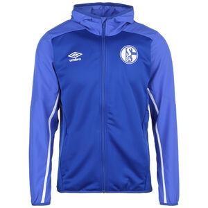 FC Schalke 04 Kapuzenjacke Herren, blau / weiß, zoom bei OUTFITTER Online