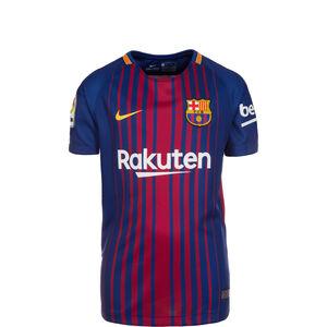 FC Barcelona Trikot Home 2017/2018 Kinder, Blau, zoom bei OUTFITTER Online