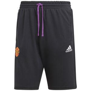 Manchester United Travel Shorts Herren, schwarz / lila, zoom bei OUTFITTER Online
