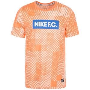 F.C. Essential Block T-Shirt Herren, orange / blau, zoom bei OUTFITTER Online