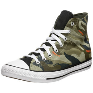 Chuck Taylor All Star Hi Sneaker, oliv / braun, zoom bei OUTFITTER Online