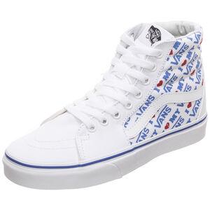 Sk8-Hi Sneaker Damen, weiß / blau, zoom bei OUTFITTER Online
