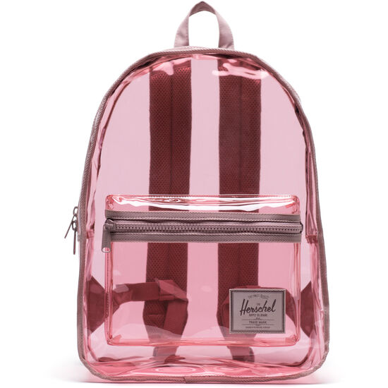 Clear Bags Classic X-Large Rucksack, rosa / braun, zoom bei OUTFITTER Online