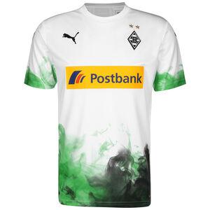 Borussia Mönchengladbach Trikot Home 2019/2020 Herren, weiß / grün, zoom bei OUTFITTER Online