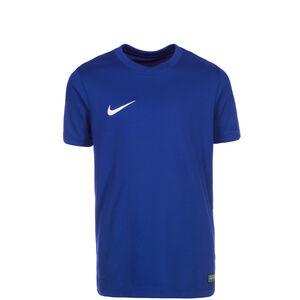 Park VI Fußballtrikot Kinder, blau / weiß, zoom bei OUTFITTER Online