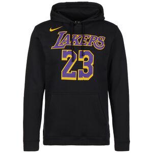 Los Angeles Lakers LeBron James Kapuzenpullover Herren, schwarz / lila, zoom bei OUTFITTER Online